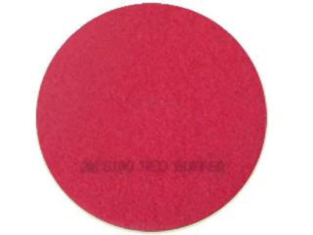 Disco vermelho rubi 3m red buffer tamanho 410