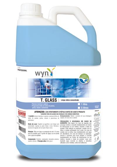 T Glass - Limpa Vidros